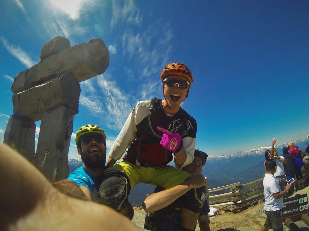Selfie Canada Bike Trip