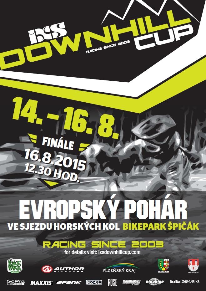 iXS European Downhill Cup EDC Spicak 2015