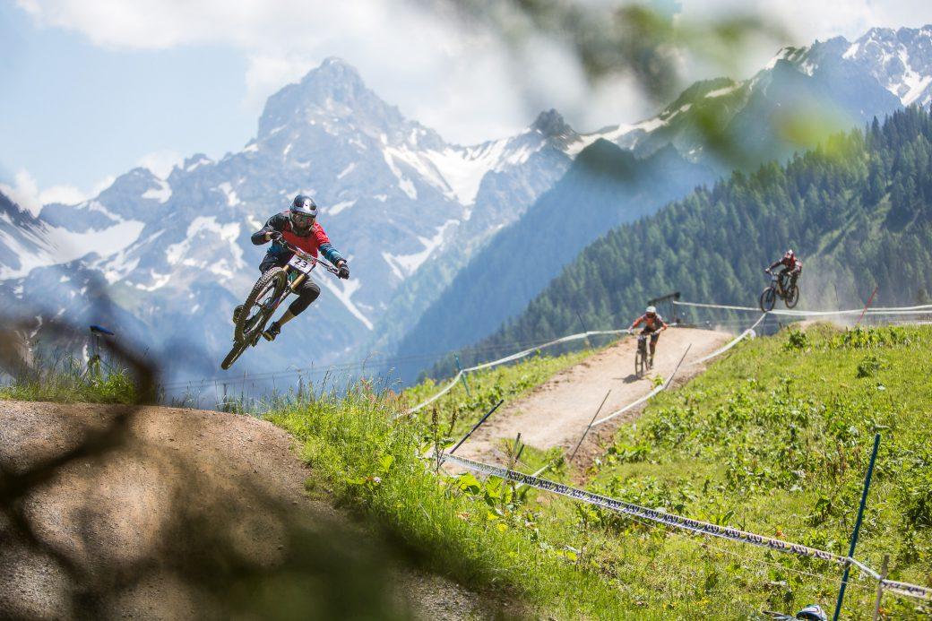 Downhill ÖM Staatsmeisterschaft Brandnertal Panorama Siegi Zellner