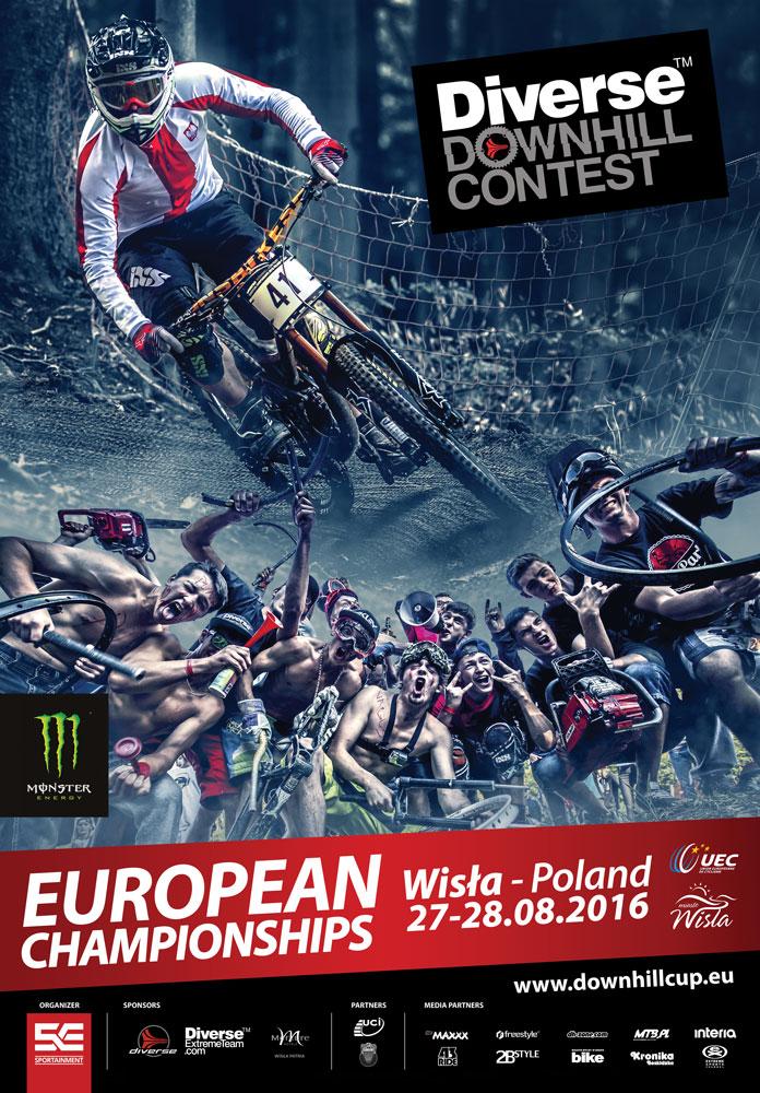 Downhill EM Europameisterschaft Wisla Polen