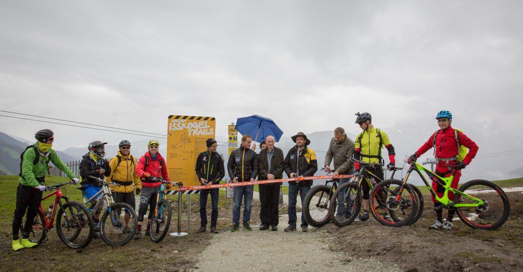 Arena Isskogel Trails Zillertal Gerlos Eröffnung