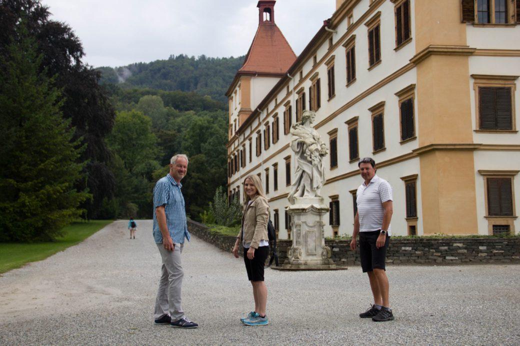 Beat Wabel Fabienne Schachner Thomas Rajakovics UCI MTB-Weltcup XCO Graz Schloss Eggenberg
