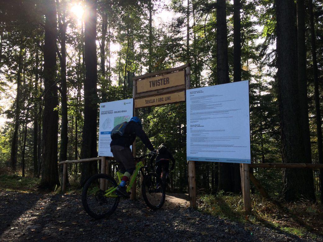 Bielsko-Biala Polen Poland Trail Center