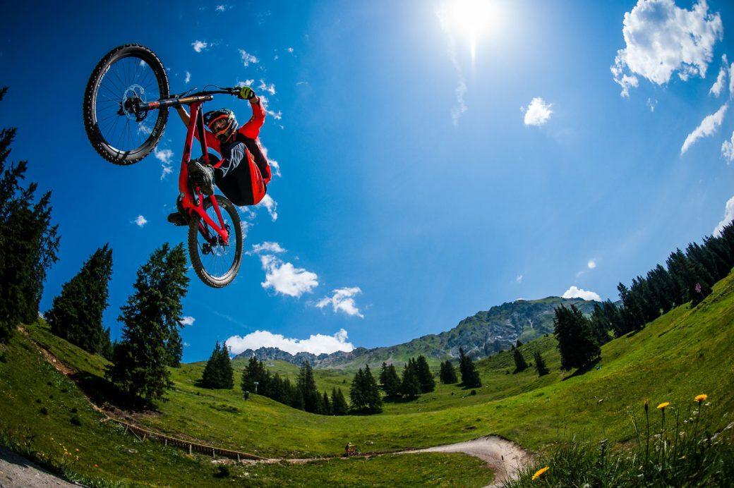Nathan Hughes Bikepark Lenzerheide Brendan Fairclough