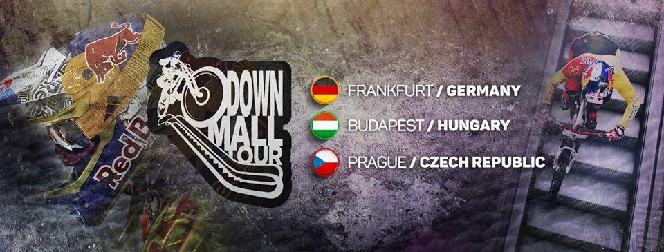 DownMall Tour 2017 Frankfurt Budapest Prag