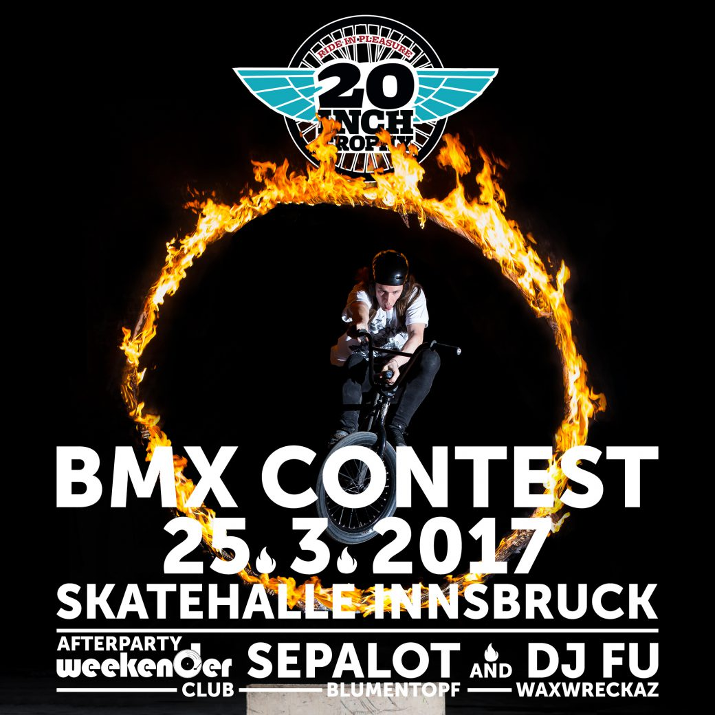 20inch Trophy RIP BMX IBK Innsbruck