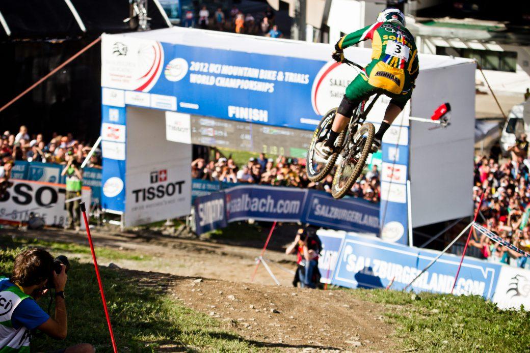 Downhill Weltmeisterschaft WM 2012 Leogang Greg Minnaar