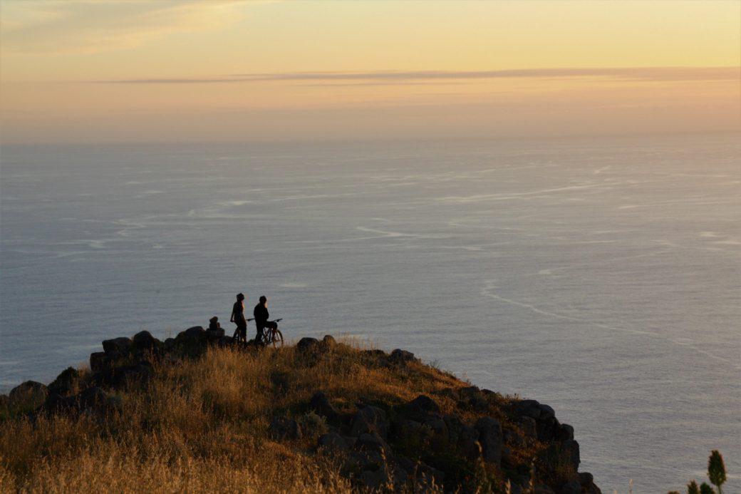 Madeira Aussicht Meer Felsen