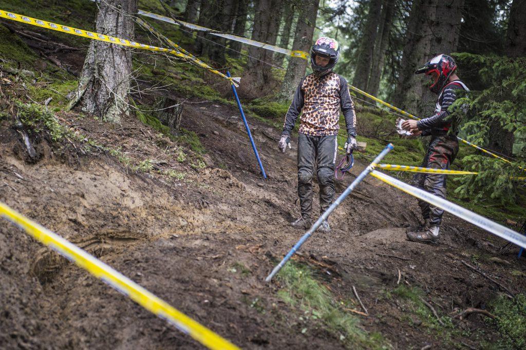 Austrian Gravity Series Innsbruck Downhill Cup Erich Wieland Peter Mihalkovits