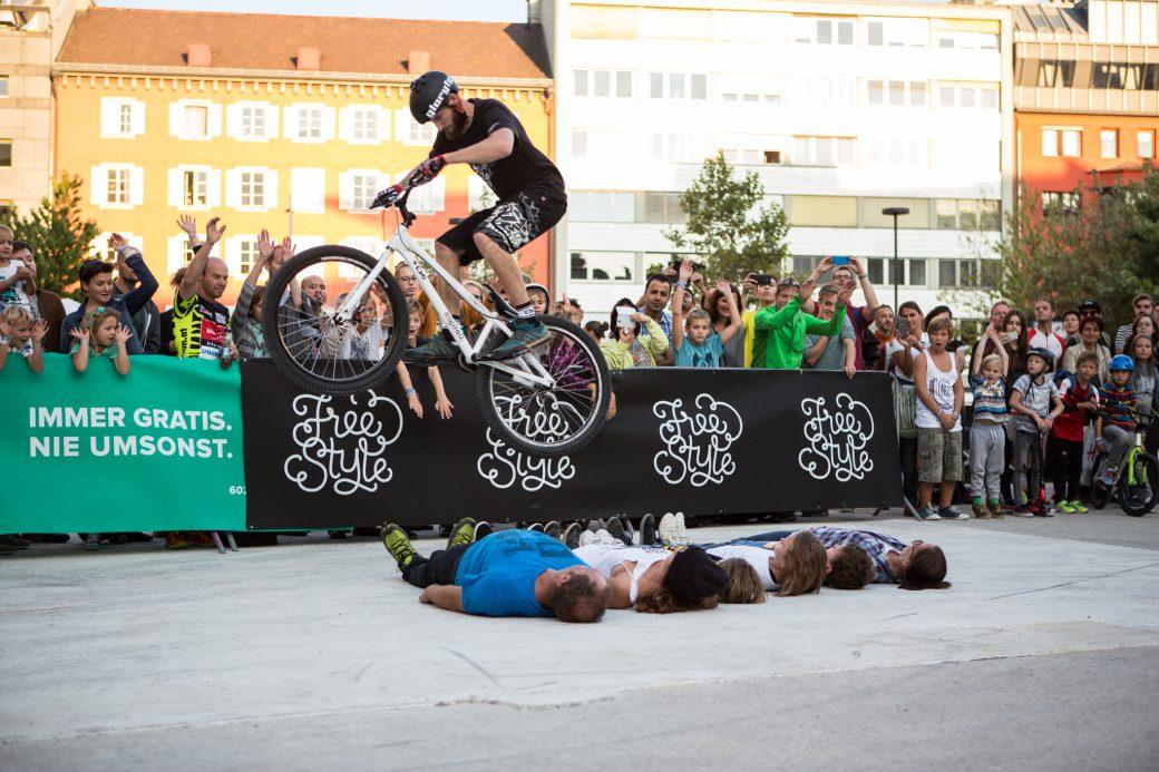 Freestyle am Landhausplatz