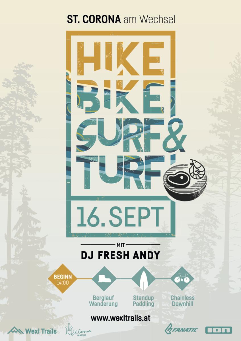 Hike Bike Surf & Turf Wexl Trails