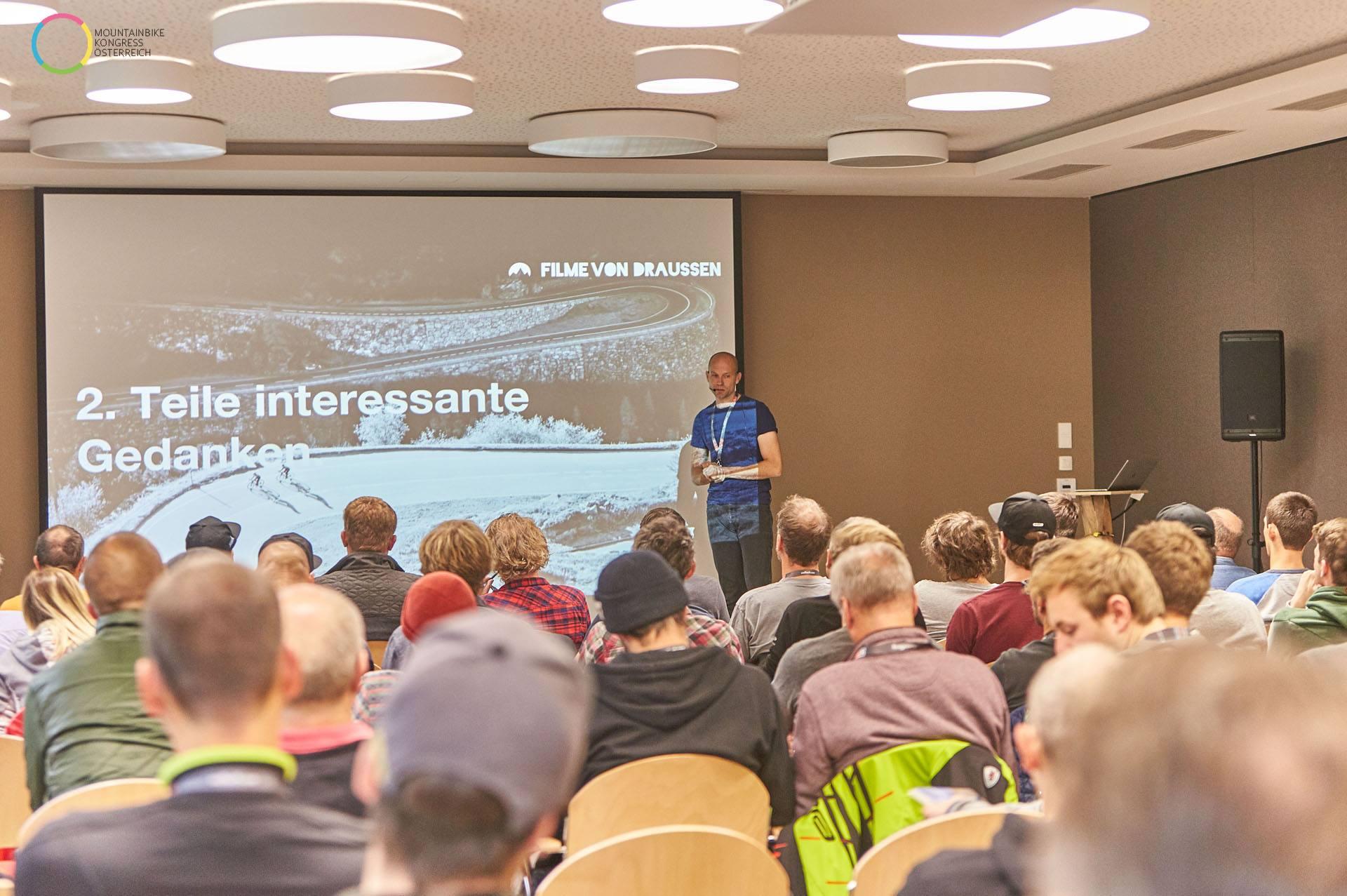 Mountainbike Kongress Österreich 2017 Saalbach Filme von Draussen