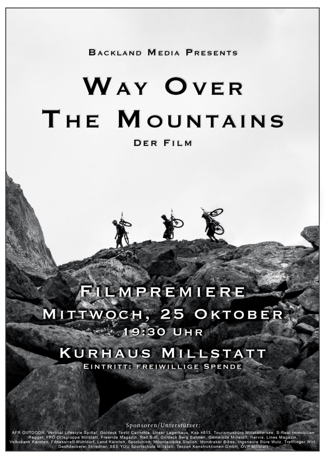 Way Over The Mountains Film Premiere Vertical Racing Kärnten Millstatt