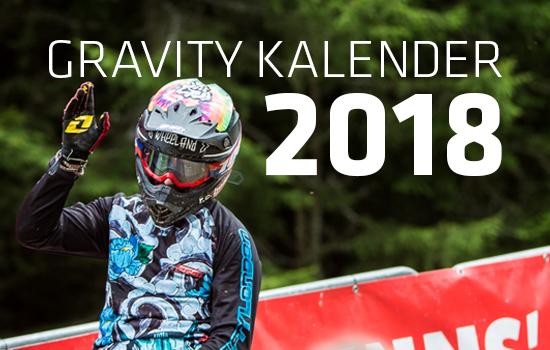 Gravity Kalender 2018
