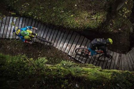 Flims Laax Faleraa Schweiz Mountainbike Enduro Runca Trail