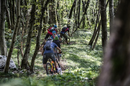 Soca Tal Slowenien Mountainbike Enduro