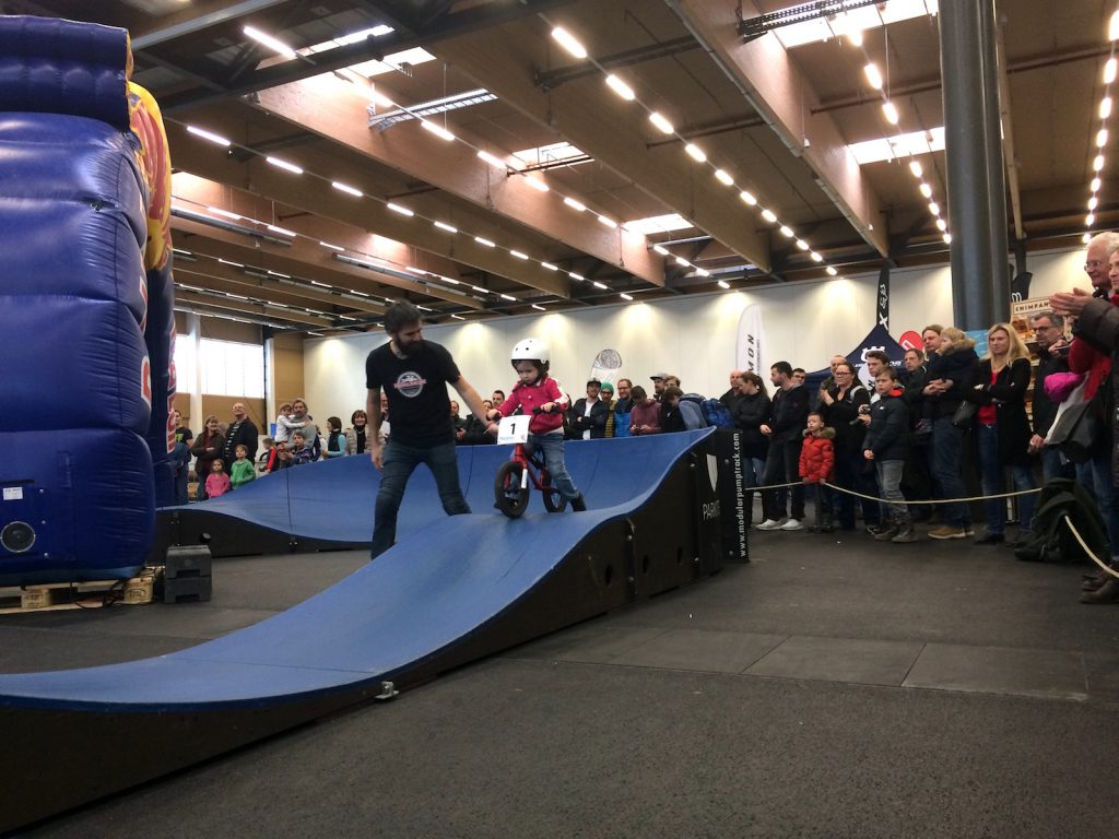 Austrian Pumptrack Series Pump the Expo Bike Festival Austria Wels 2018 Startnummer 1