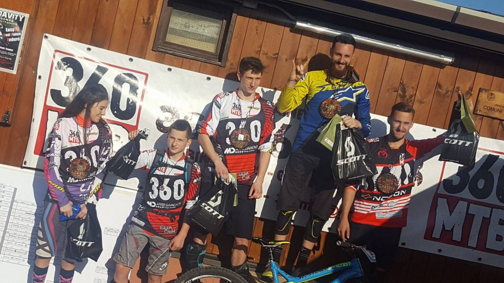 360 MTB Gravity Games Triest Dual Slalom Podium