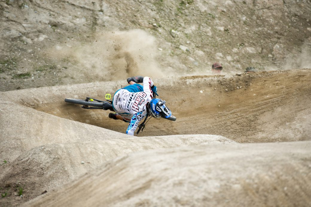 Hannes Slavik Crankworx Innsbruck 2017 Sturz