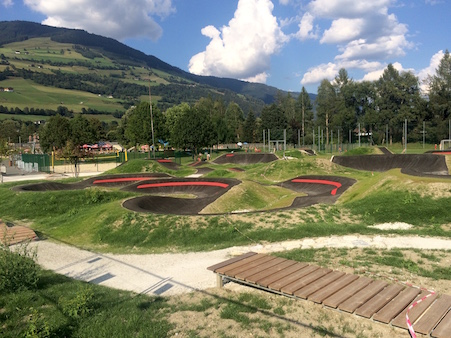 Pumptrack Mittersill Salzburg Velosolutions Pump 'n' Skills Park