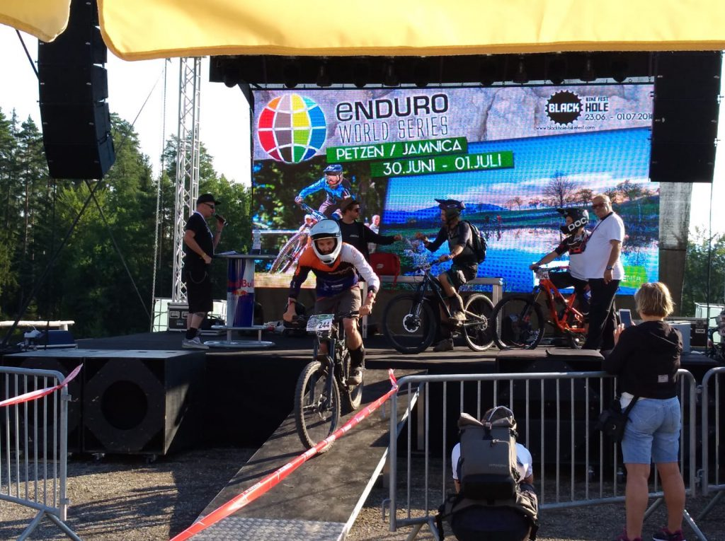 Enduro World Series Petzen Start