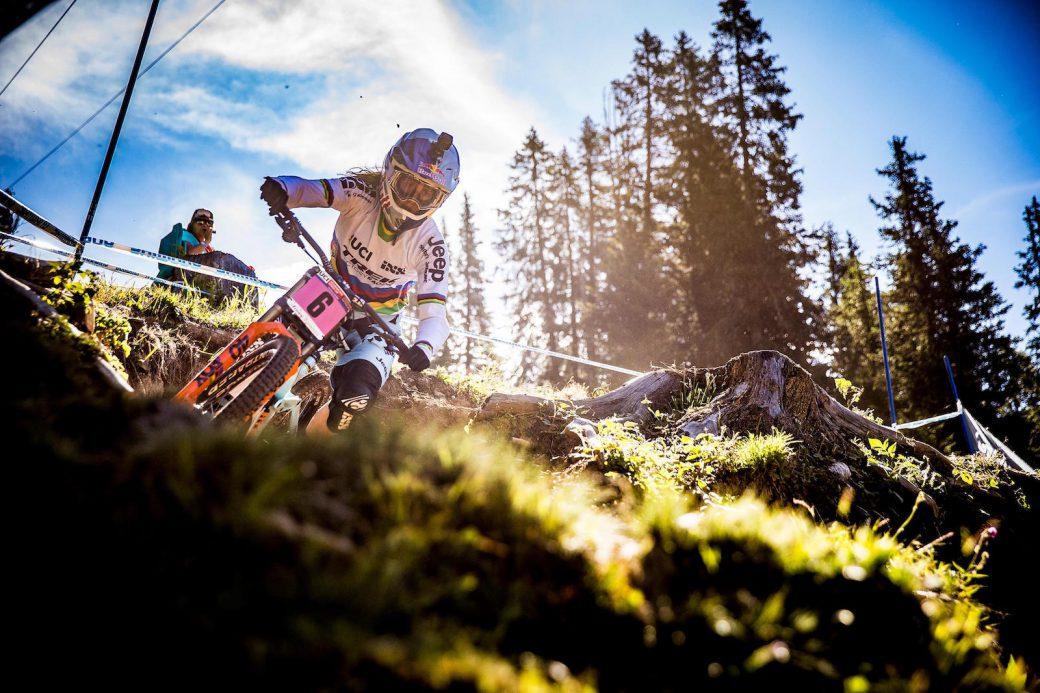 Mountainbike WM Weltmeisterschaft 2018 Lenzerheide Rachel Atherton