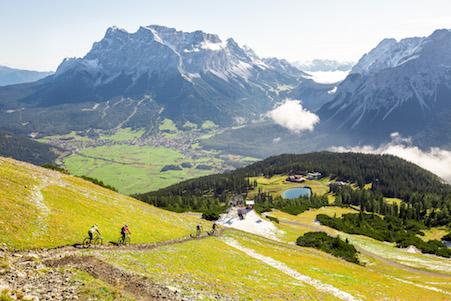 Zugspitz Arena Mountainbike Lermoos Biberwier Ehrwald