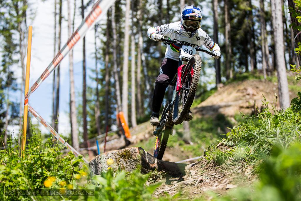 Downhill ÖM 2019 Vali Höll Windischgarsten Wurbauerkogel