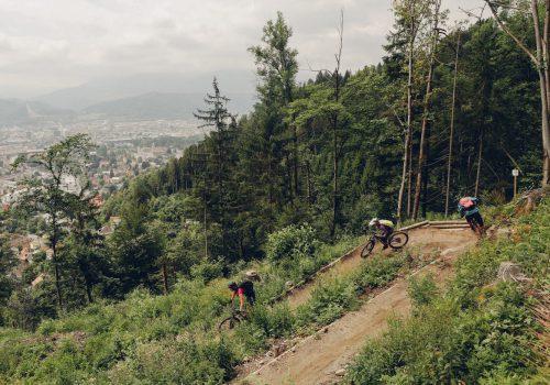 #MTBInnsbruck MTB Innsbruck Hungerburg Trail