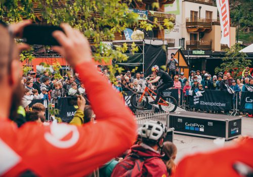 Bike Opening Sölden Danny MacAskill Drop'n'Roll Tour