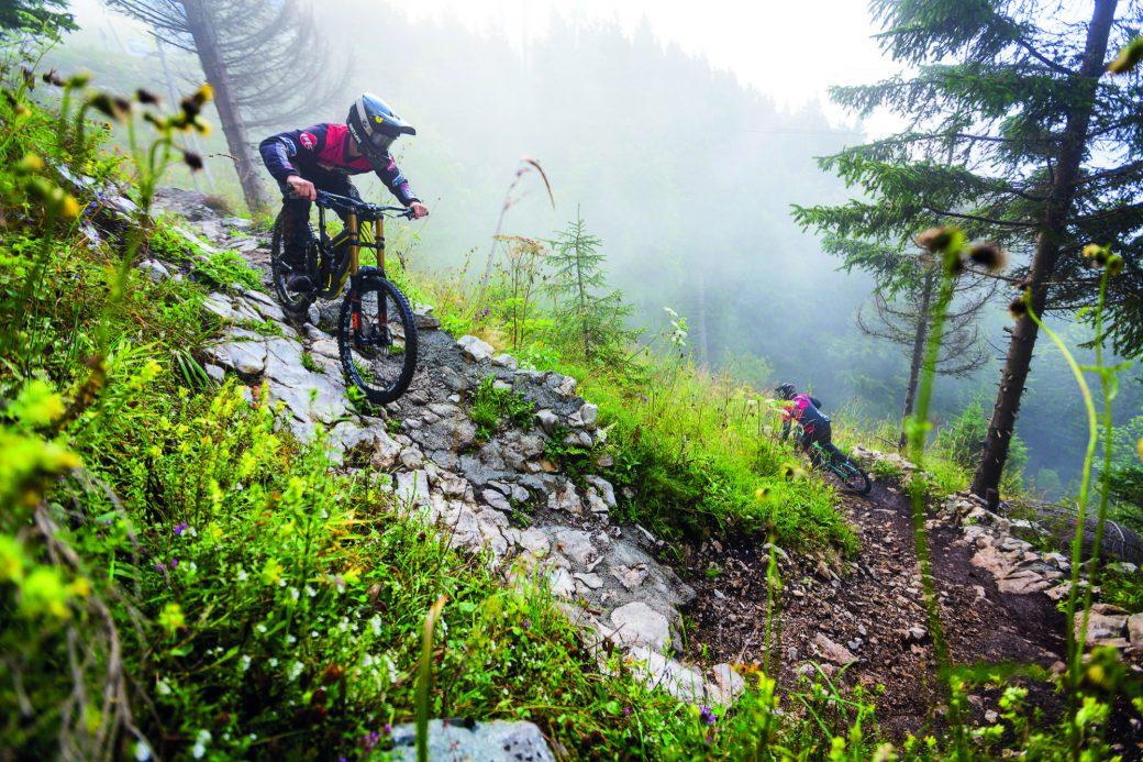 Bikepark Krvavec Slowenien Rock'n'Flow