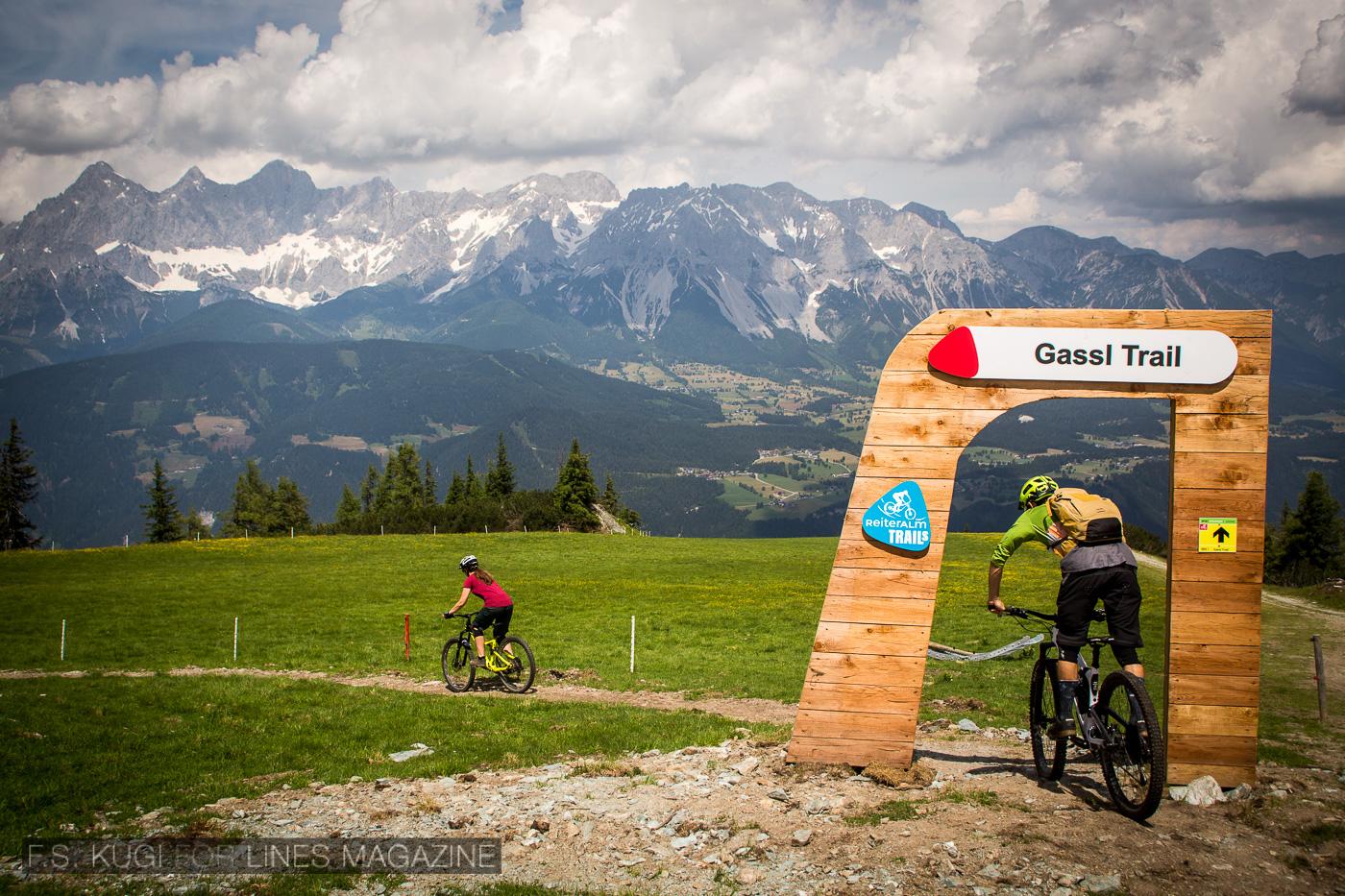 Reiteralm Mountainbike Trails Gassl Trail