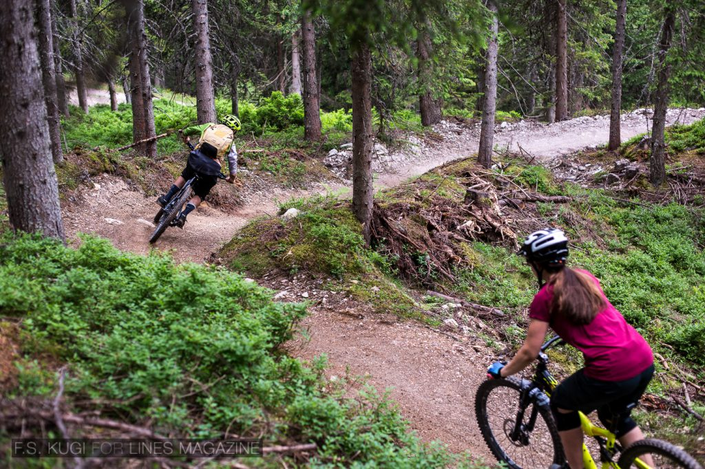 Reiteralm Mountainbike Trails Hochalm Trail