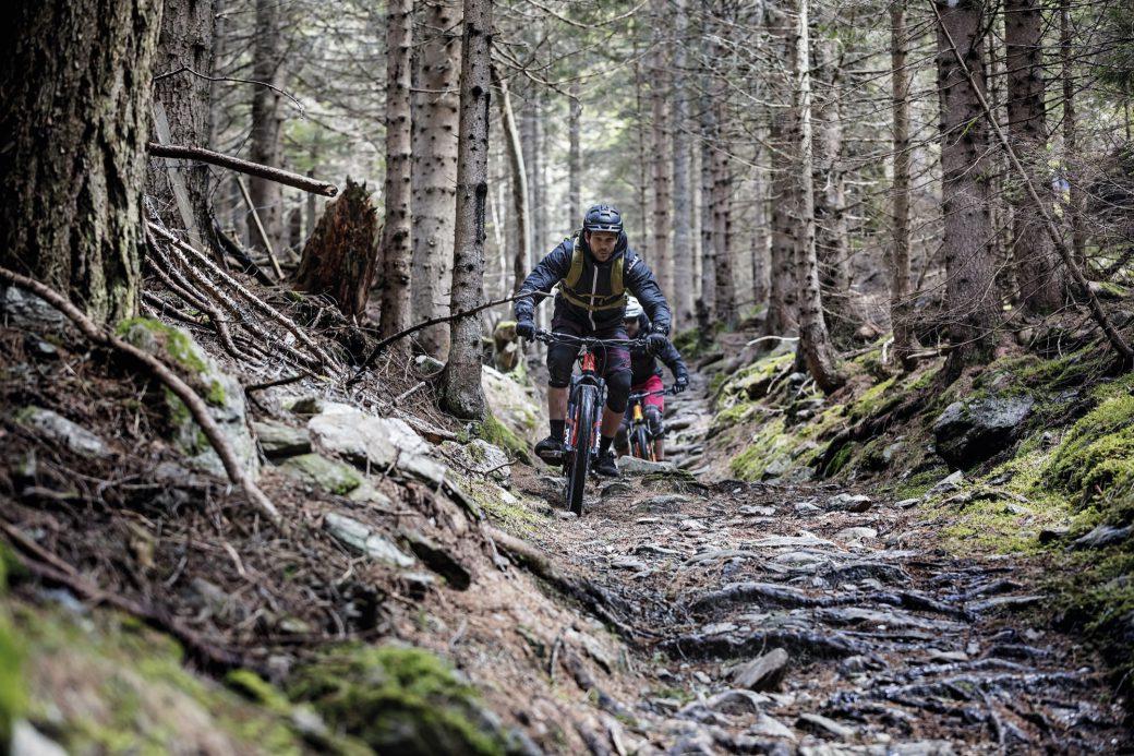 Nockberge Alter Almweg Feld am See Nockbike