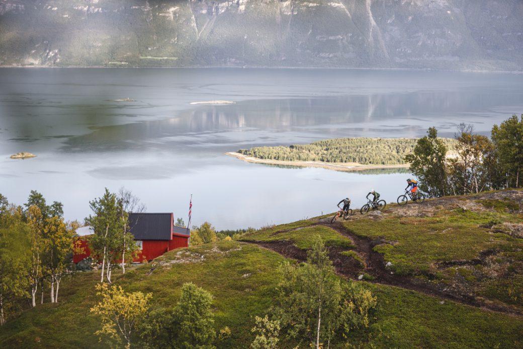 Nordnorwegen Lyngenfjord Norwegen