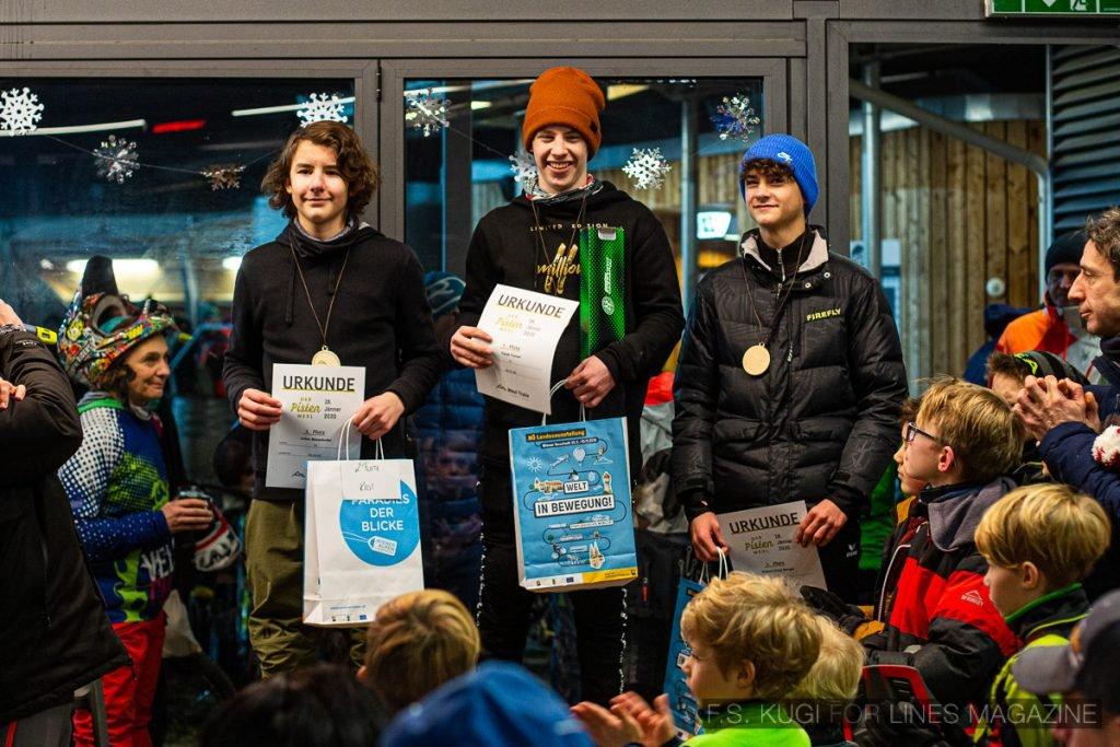 Der Pistenwexl 2020 Wexl Trails schneefräsn Jugend Podium