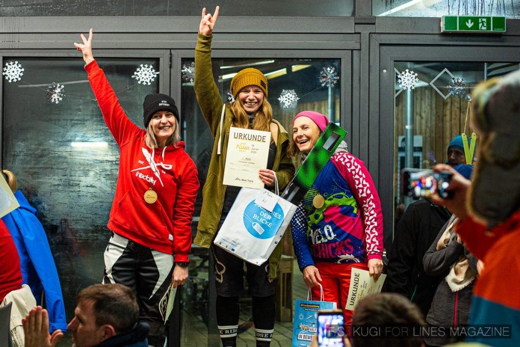 Der Pistenwexl 2020 Wexl Trails schneefräsn Damen Podium