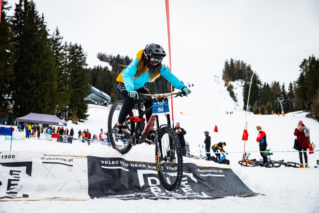 Bike & Snow Innsbruck schneefräsn Caroline Schöpfer