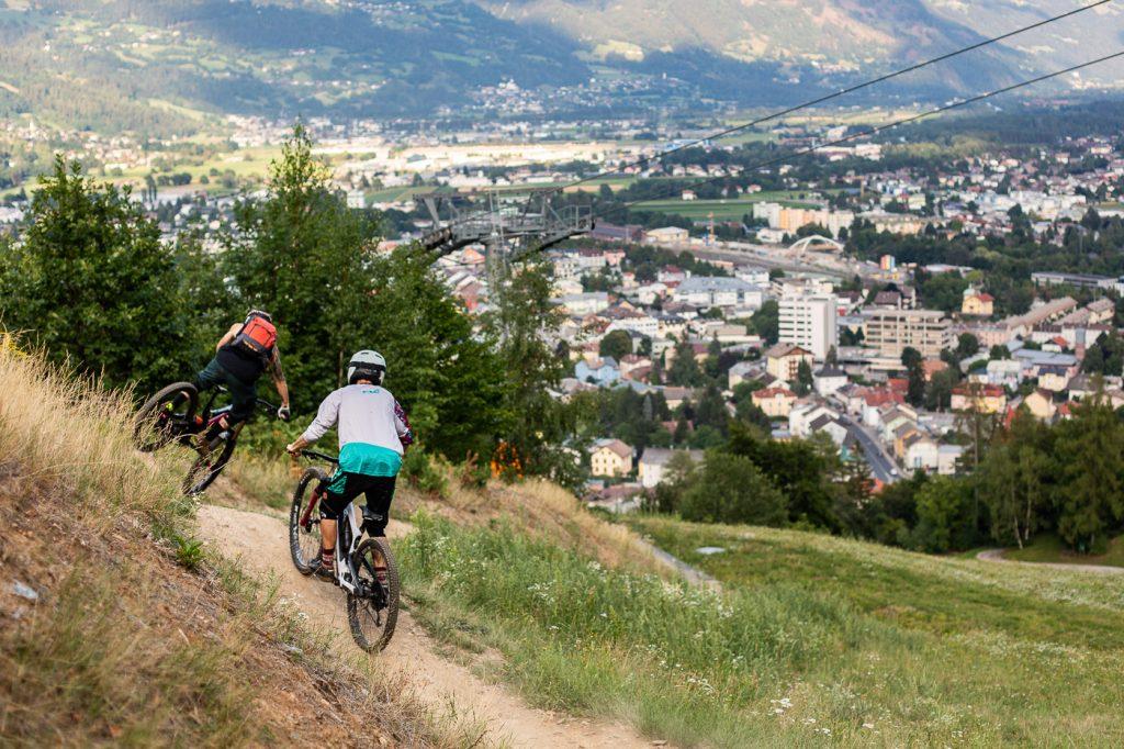 Bikepark Lienz Dolomiten Osttirol Peter Sagan Trail