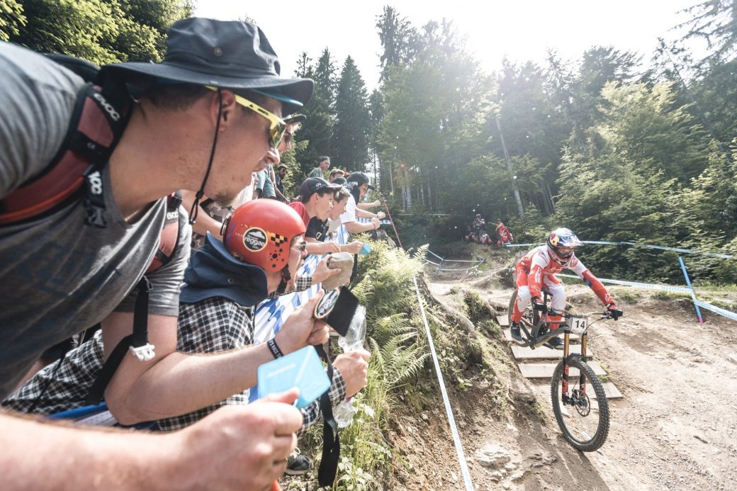 Downhill Weltcup Leogang Aaron Gwin