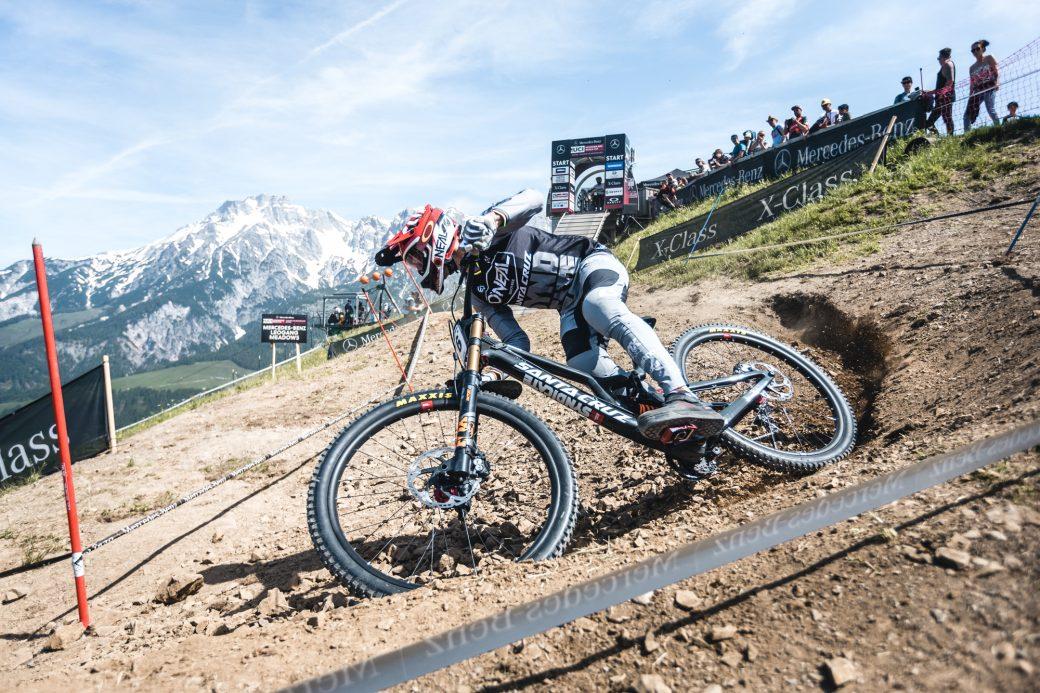 Downhill Weltcup WM Bikepark Leogang Greg Minnaar 2020 2019