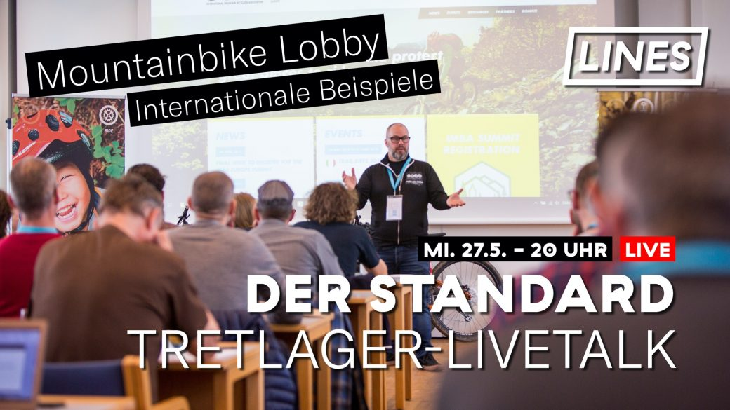 Tretlager Livetalk Der Standard Diskussion internationale Mountainbike MTB Lobby Lobbies Interessensvertretung