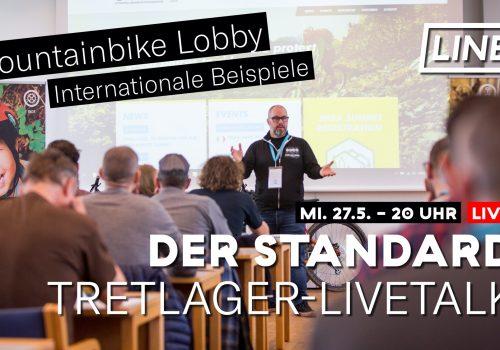 Tretlager Livetalk Der Standard Diskussion internationale Mountainbike MTB Lobby Lobbies Interessensvertretung