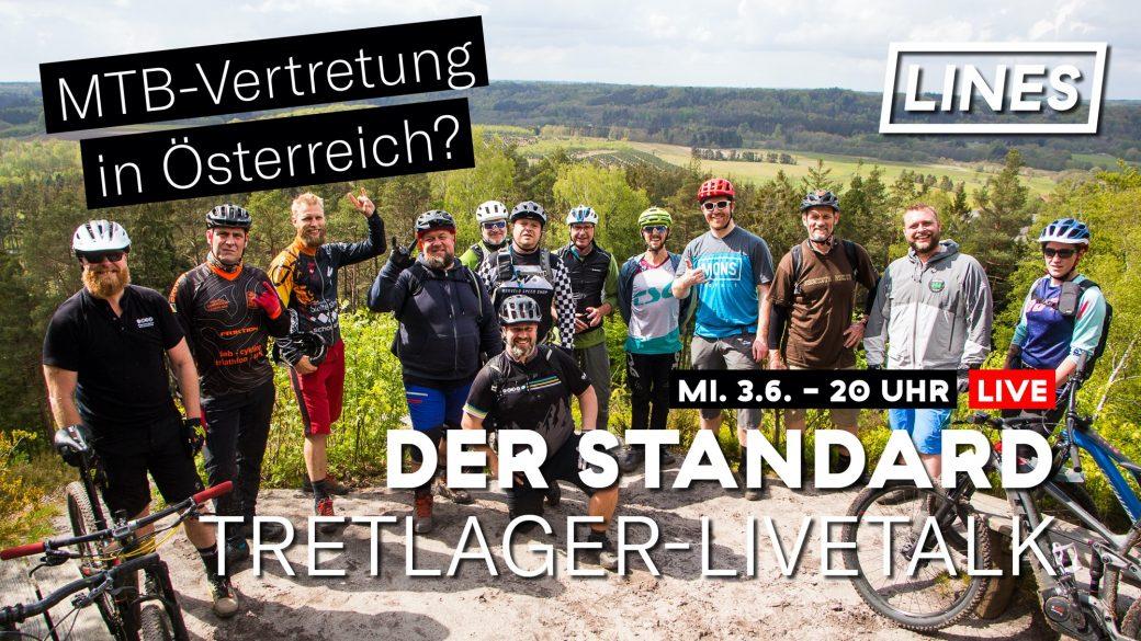 Tretlager Livetalk MTB-Vertetung Österreich
