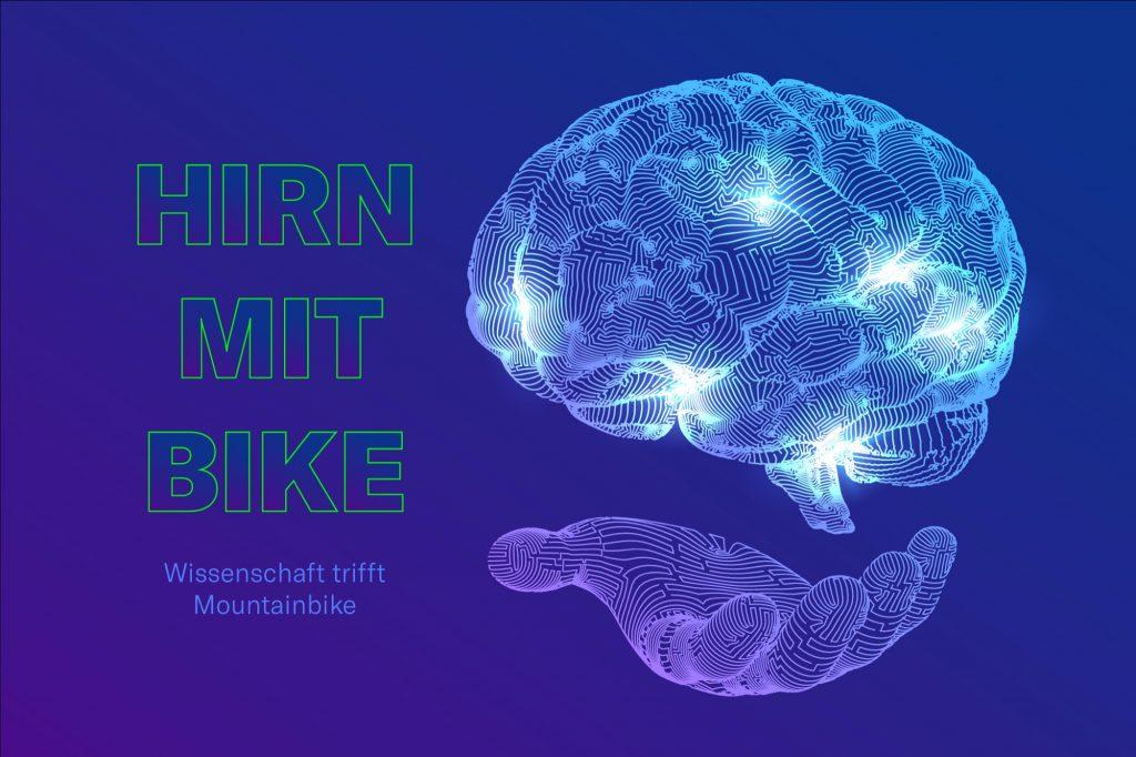 Hirn mit Bike Wissenschaft Kolumne