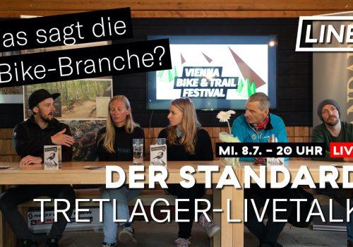 Der Standard & LINES Tretlager-Livetalk Bike-Branche