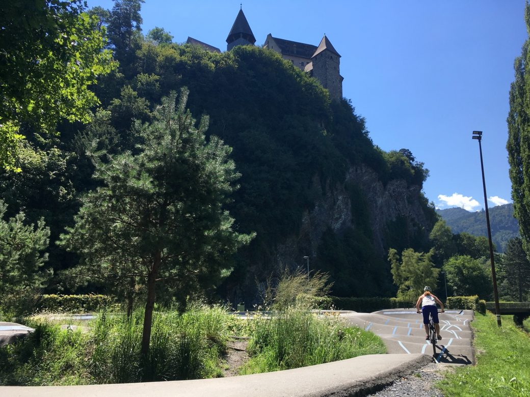 Pumptrack Balzers Liechtenstein