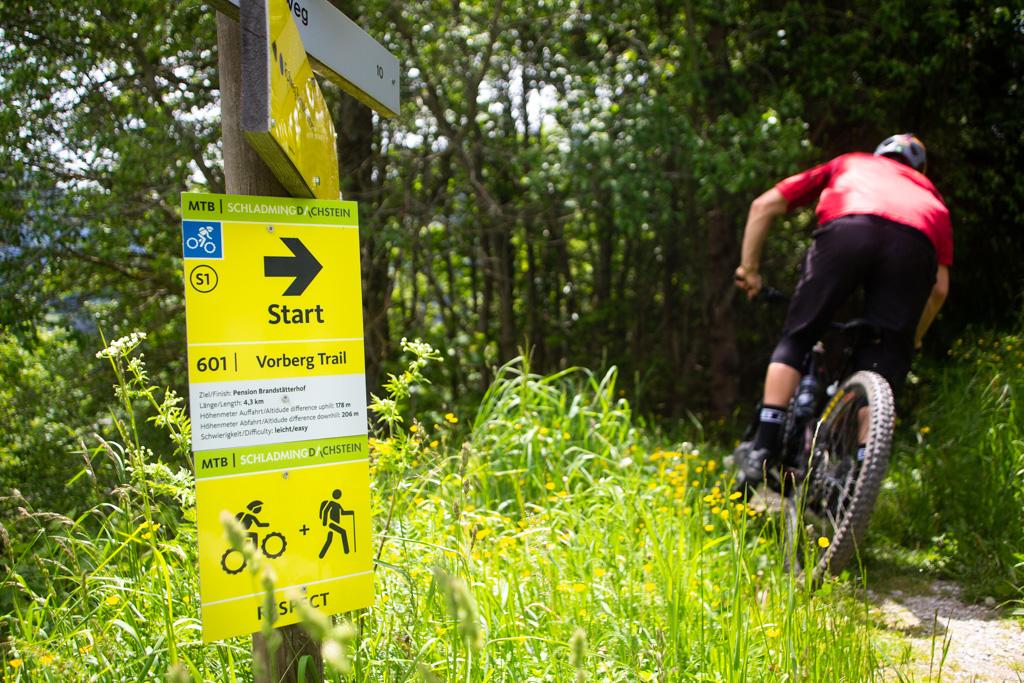 Schladming Dachstein Vorberg Trail Start