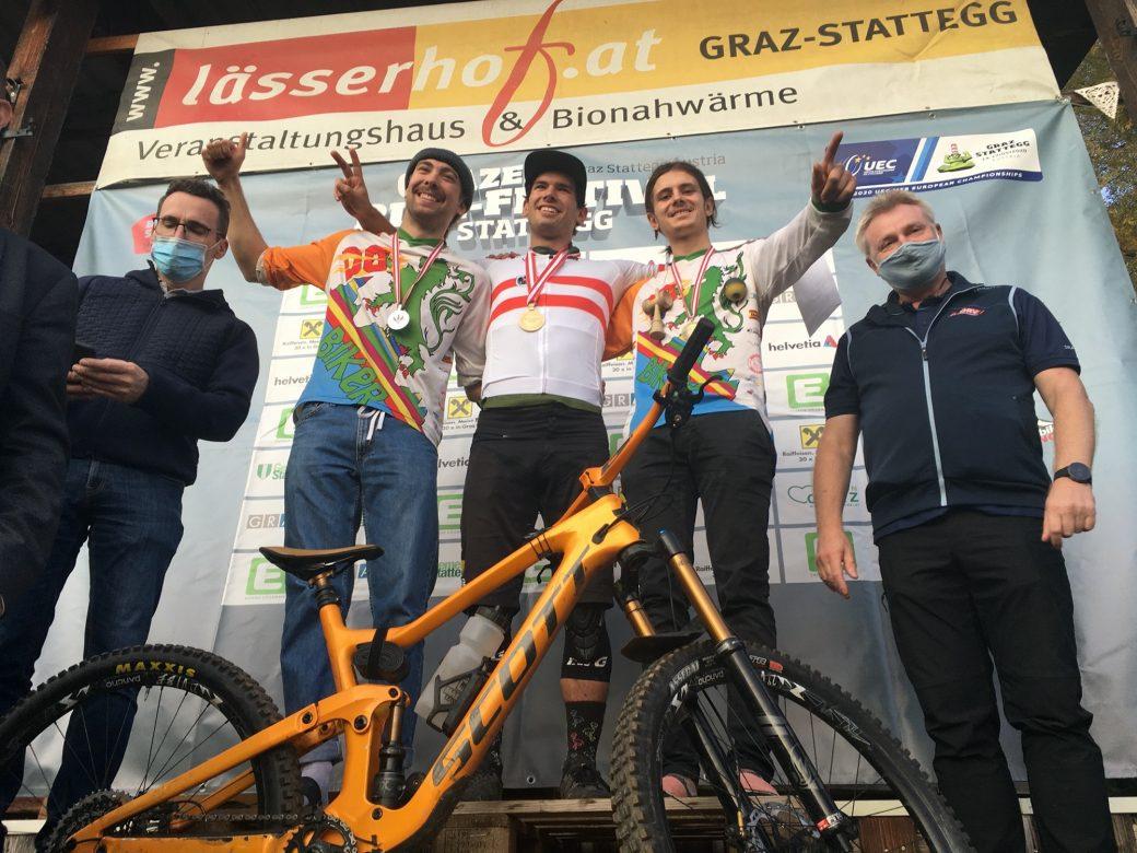 Ergebnisse Enduro ÖM 2020 Sieger Max Fejer Daniel Schemmel Max Trafella