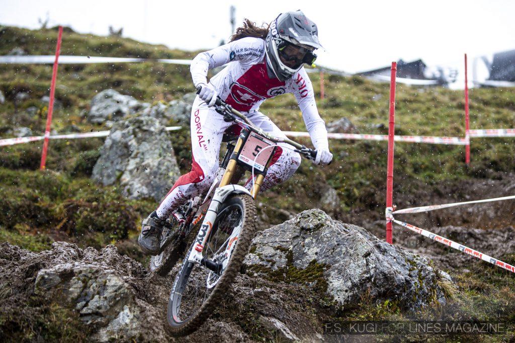 MTB WM Leogang 2020 Downhill Damen Camille Balanche